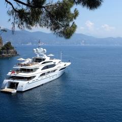 At Anchor off Portofino