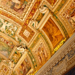 The Map Room in The Vatican