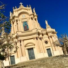 The Church of San Giovanni Evangelista in Modica