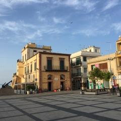 The Main Square in Marina di Ragusa