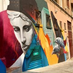 Street Mural in Cartegena, Spain