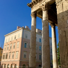 Temple of Augustus, Pula