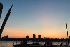New Jersey City Sunset