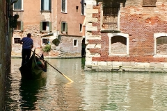 The life of a Venecian gondolier