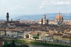 Florence cityscape from Piazza Michelangelo