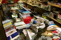 Acqua Alta bookshop, Venice