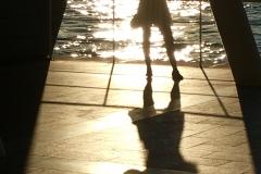 Sunset Selfie on Lido, Venice