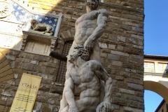 Hercules in Piazza della Signoria, Florence